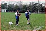 佐野コーチ(右)と、高井コーチ