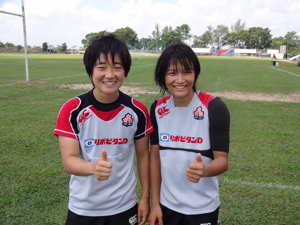 山本選手(左)と古田選手(右) のコピー