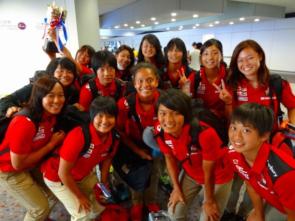 香港空港到着