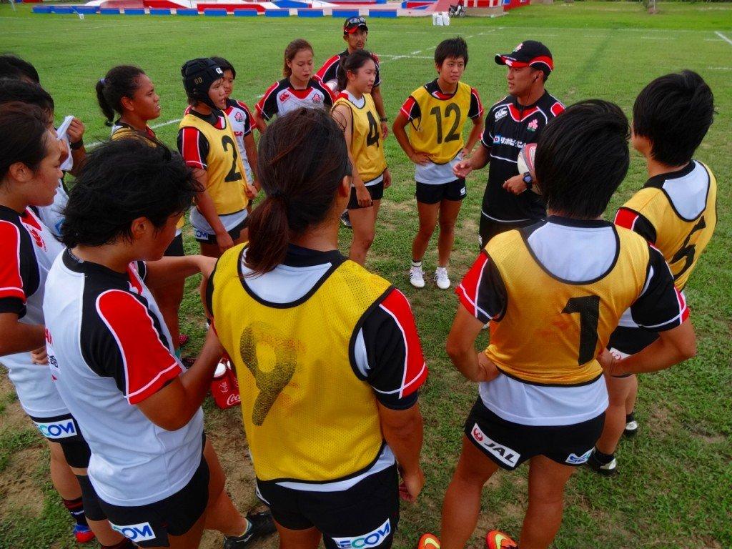 U20女子セブンズ日本代表として徹底することの確認