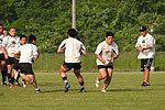 カナダ戦に向け練習に取り組む日本代表