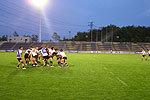 J-VILLAGEスタジアムでナイター練習