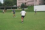 練習中の7人制日本代表