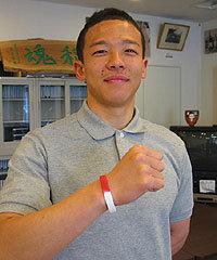 日本代表スコッドの曽我部佳憲選手(早稲田大学)