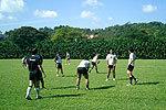 南アフリカとの練習マッチ