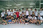 シンガポールジャパニーズのミニラグビー教室