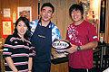 遠征中、チームのリエゾンとしてサポートいただいている山田さんご夫妻
