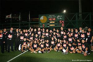 日本代表 54-0 韓国代表