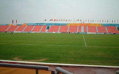試合会場となる Al-Arabi Field