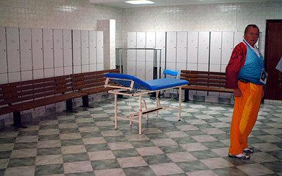 試合当日に使用するロッカールーム