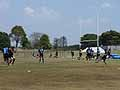 廣瀬コーチによるキャッチングドリル