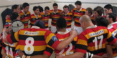 ロッカールームで集中するワイカトU23代表チーム