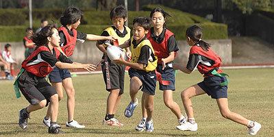府中市小学生タグラグビー大会フォーリスカップ