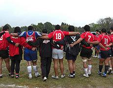 ジャパンとのADへ向け、気合を入れる選手たち