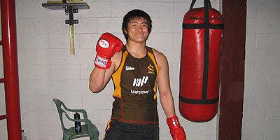 ボクシングを取り入れたトレーニングを早速開始