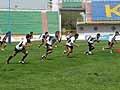 小野澤選手(左端)らベテランが若手を引っ張る