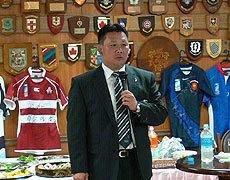 U20を率いる薫田監督