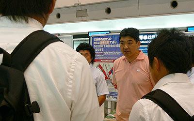 日本代表事業委員会・太田GMからも挨拶が