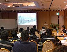 早稲田大学戦のビデオと使いフランスチームの特徴と対策を分析