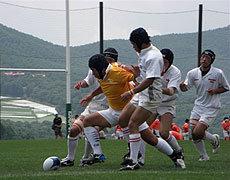 サニアDグランド U17中国(ゴールド)vs関東(白)