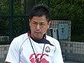 村田監督が練習メニューの説明