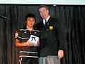 男子の大会MVPは鈴木選手が受賞