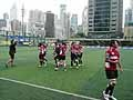 カザフスタン代表に勝ち、ワールドカップ出場を決めた女子7人制日本代表