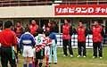日本代表選手からご挨拶