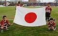 日本国旗のリーディングフラッグを担当してくれた皆さん