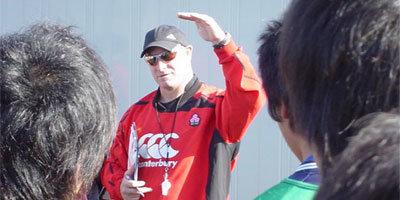 最後のセッションでPaul氏から若きジャパン候補への激励の言葉が