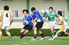 近畿大学ラグビー同好会ドルフィンズ 38-65 早稲田大学こんぷれっくすラグビーチーム