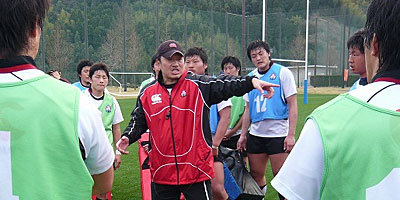 古田コーチのディフェンスに関する細かいアドバイス