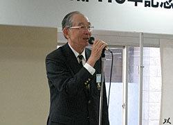 開会の辞、上野黒黄会長