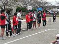 参加してくれた9選手と太田(正)コーチ