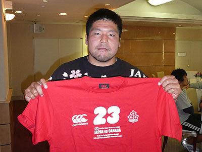 日本代表スコッド 畠山健介選手