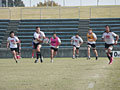 ボールが動き出すと同時にFWはサポートに走る