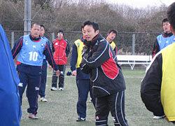 太田コーチによる指導