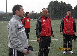 元日本代表広瀬氏がスポットコーチに来て下さいました