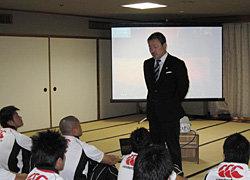 開講式―上野競技力向上委員会委員長より