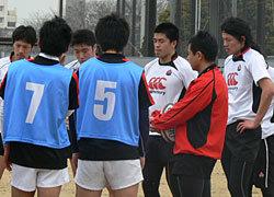 村田監督による実技トレーニング開始