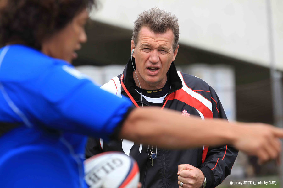 日本代表ヘッドコーチ ジョン・カーワン