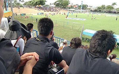 PNC試合観戦(フィジー代表 vs 日本代表)
