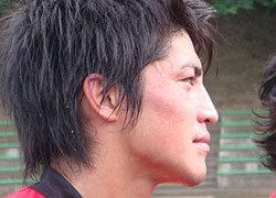 涼しい横顔で激しいディフェンス トヨタ 城戸選手
