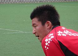 日本A代表から合宿の連続 トヨタ 山内選手