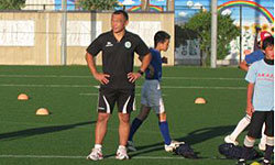 U20日本代表の元木ヘッドコーチもSCIXのイベントにスタッフとして参加