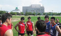 岩渕コーチから選手に問いかけ