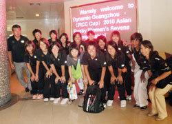 26日、ホテルを出発前に、MASAKI(リエゾン)と