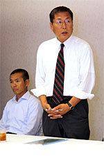 北海道協会田尻競技委員長