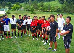 村田・7人制日本代表監督、岩渕・HPマネージャーによるクリニック