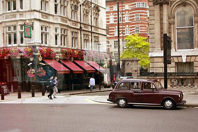ロンドン市内の観光
